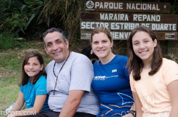 Rostros de la Cota: Familia Salcedo en boleita disfrutando un soleado domingo