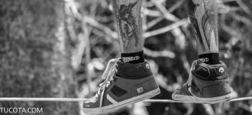 zapatos en equilibrio