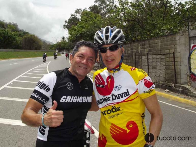 ROSTROS DE LA COTA MIL: Alberto Peñaranda y Francisco Tortoledo