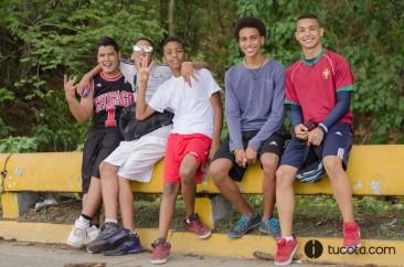 Abraham, Alejandro, Edward, Kelvin y Albert