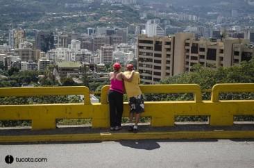 Una bella vista de la ciudad de caracas
